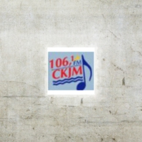 Logo of radio station CKJM 106.1 FM