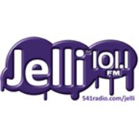 Logo of radio station KSKR Jelli 101.1