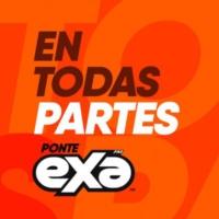 Logo of radio station XHMI Exa FM 100.3