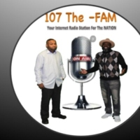 Logo of radio station 107 THE-FAM