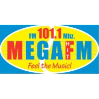 Logo of radio station Mega 101.1 FM