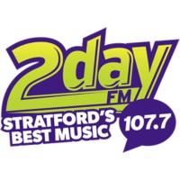 Logo of radio station CHGK 107.7 2day FM