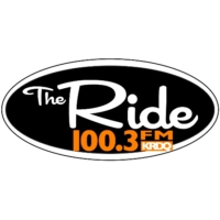 Logo of radio station KRDQ The Ride
