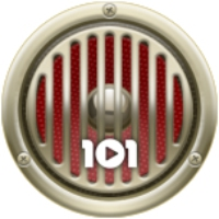 Logo de la radio 101.ru - Rock'n'Roll
