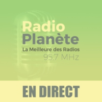 Logo of radio station Radio Planète