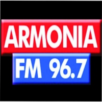 Logo of radio station Armonia FM 96.7