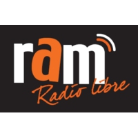 Logo of radio station RAM, radio libre