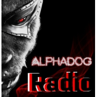 Logo of radio station AlphaDoG Radio