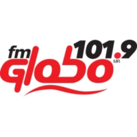 Logo of radio station XHPF FM Globo 101.9