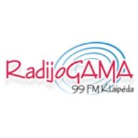 Logo de la radio Radijo GAMA