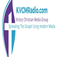 Logo of radio station KVCM-Victory Christian Media Radio