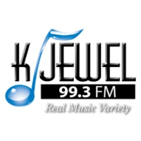 Logo of radio station KJWL FM (K-Jewel 99.3)