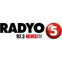 Logo of radio station Radyo 5 92.3 News FM