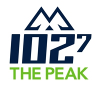 Logo of radio station CKPK-FM 102.7 THE PEAK