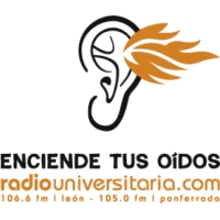 Logo of radio station Radio Universitaria de León