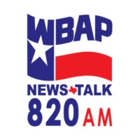 Logo of radio station WBAP 820 AM