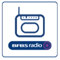Logo of radio station BFBS Germany