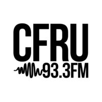 Logo of radio station CFRU 93.3FM