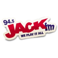 Logo of radio station 94.5 Jack FM