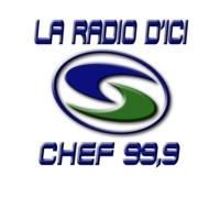 Logo of radio station CHEF 99.9