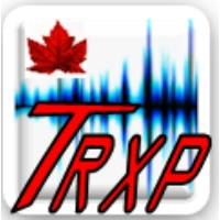 Logo of radio station WTRXP