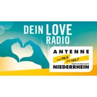 Logo of radio station Antenne Niederrhein - Love Radio