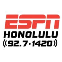 Logo of radio station KKEA ESPN 1420