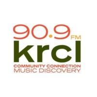 Logo of radio station KRCL 90.9FM