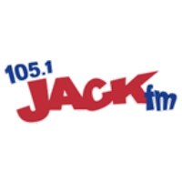 Logo of radio station KCJK Jack 105.1