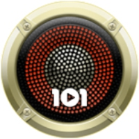 Logo of radio station 101.ru - Elvis Presley