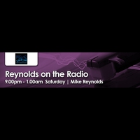 Logo of show Reynolds on the Radio