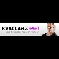 "Logo de l'émission RIX TOPP 6 KLOCKAN med Sebastian ""Basse"" Widman"
