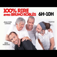 Logo de l'émission Bruno Robles 100% Rire