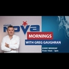 Logo of show Mornings - Greg Gaughran