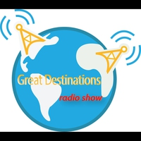 Logo of show The Great Destinations Radio Show