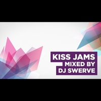Logo of show Kiss Jams mixed by DJ Swerve