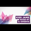 Logo de l'émission Kiss Jams mixed by DJ Swerve