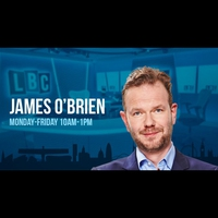 Logo of show James O'Brien