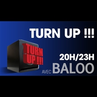 Logo de l'émission Turn Up Show !!!