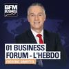 Logo of show 01 Business Forum - L'Hebdo
