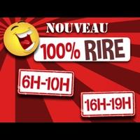 Logo de l'émission 100 % Rire