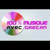 Logo of show 100% musique avec Gaëtan
