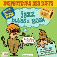 Logo de l'émission Inspecteur des Riffs