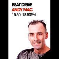 Logo de l'émission Beat Drive with Andy Mac
