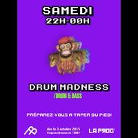 Logo of show Drum Madness