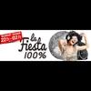 Logo de l'émission La Fiesta 100%