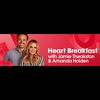 Logo of show Heart Breakfast with Jamie and Amanda