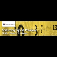 Logo of show Saturday Sport Preview