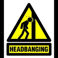 Logo de l'émission Headbanging with Fabian