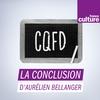 Logo de l'émission La Conclusion d'Aurélien Bellanger